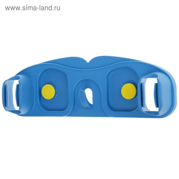 Держатель для инвентаря настенный на липучке/саморезах, цвета МИКС