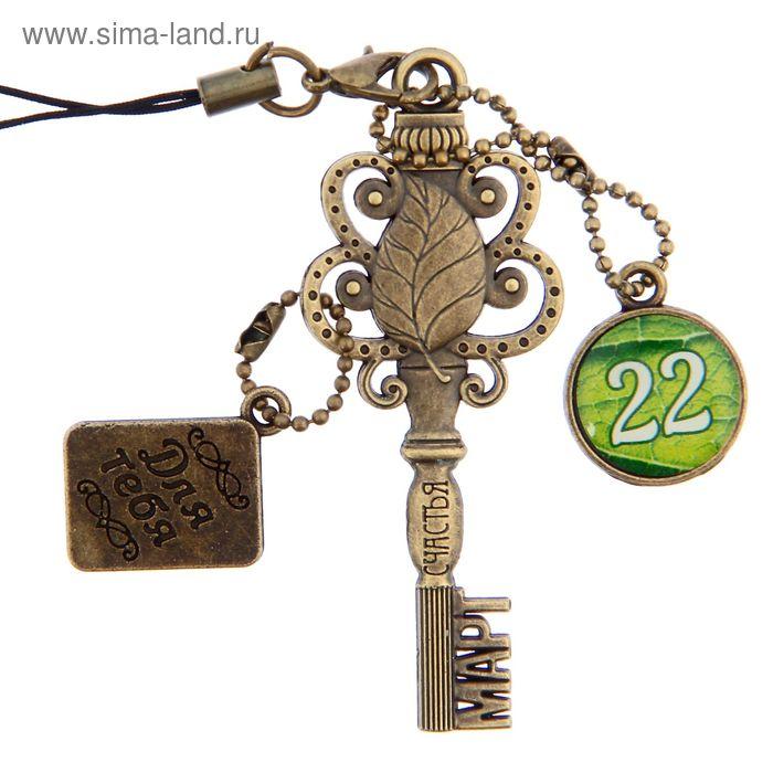 """Ключ сувенирный """"22 Марта"""", серия 365 дней"""
