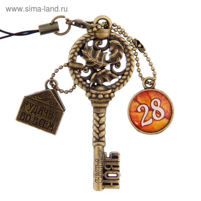 """Ключ сувенирный """"28 Ноября"""", серия 365 дней"""