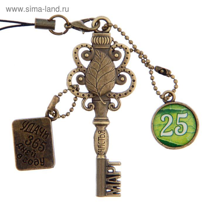 """Ключ сувенирный """"25 Марта"""", серия 365 дней"""