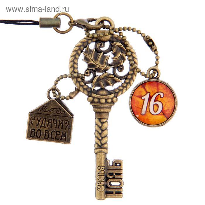 """Ключ сувенирный """"16 Ноября"""", серия 365 дней"""