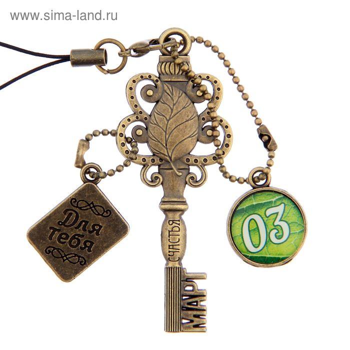 """Ключ сувенирный """"3 Марта"""", серия 365 дней"""