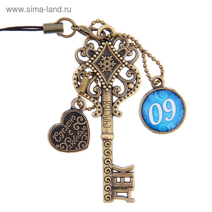 """Ключ сувенирный """"9 Декабря"""", серия 365 дней"""