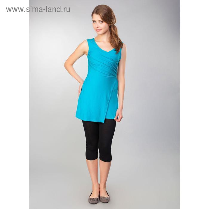 Туника женская, рост 158-164 см, размер 42, цвет бирюзовый (арт. MV19090)