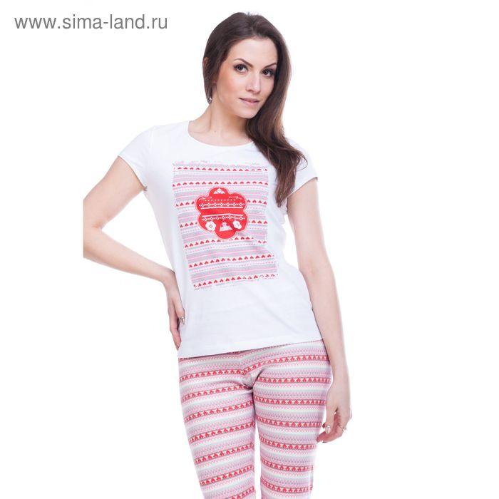 """Джемпер женский """"Фрея"""", рост 158-164 см, размер 46, цвет белый (арт. MK242253/01)"""