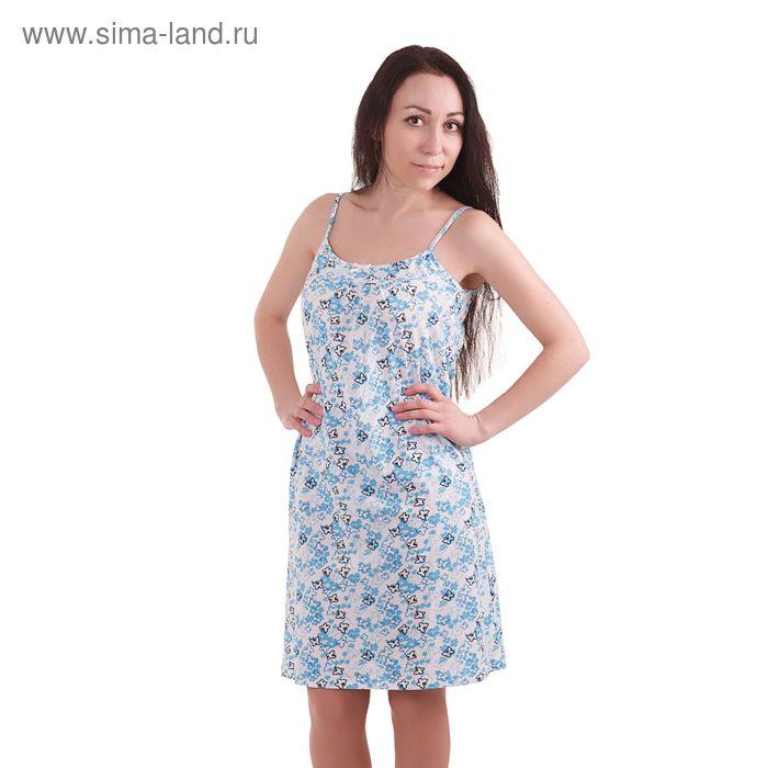 Сорочка женская, рост 158-164 см, размер 44, цвет голубой (арт. PK1862/01)