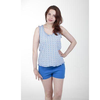 Пижама женская, рост 158-164 см, размер 44, цвет бирюзовый (арт. PK913/01-08)