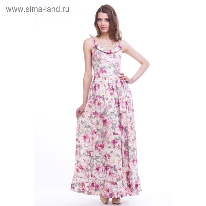 "Сарафан женский ""Мадейра"", рост 158-164 см, размер 50, цвет розовый (арт. MV2178/01)"