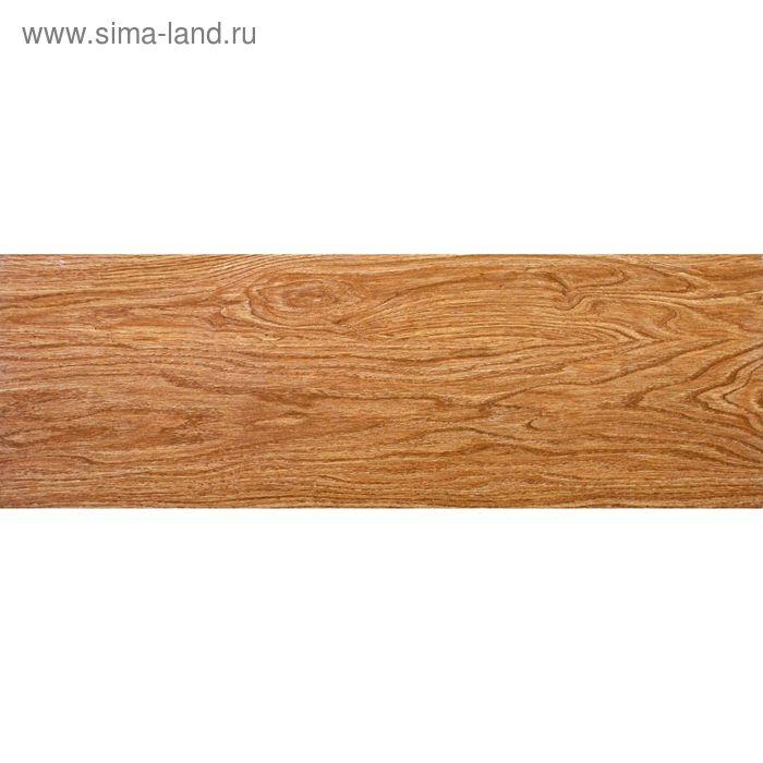 """Керамогранит """"Бора"""", светло-коричневая, 199х603 мм"""