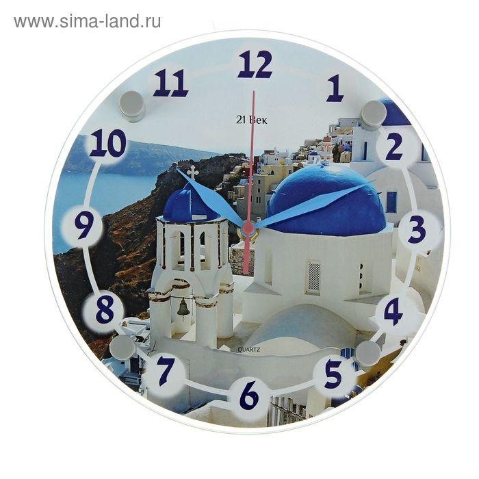"""Часы настенные круглые """"Балканы"""", 24х24 см"""