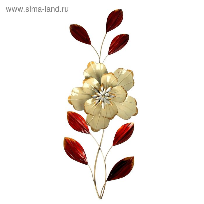 "Декор ""Объемный цветок"" МИКС"