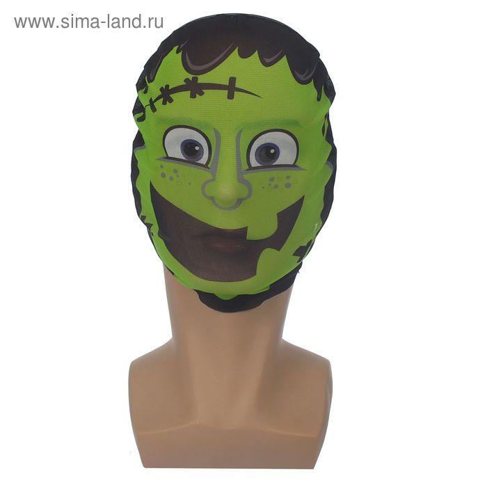 """Карнавальная маска текстиль """"Злодей"""""""