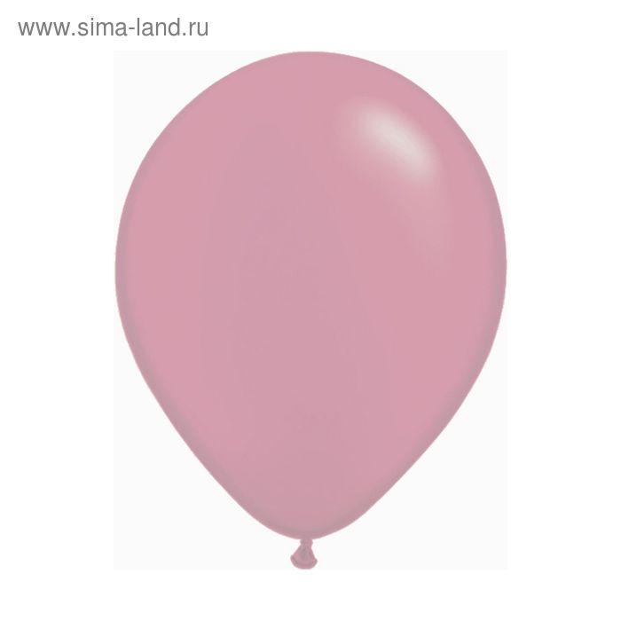 """Шар латексный 9"""", пастель, набор 100 шт., цвет розовый"""