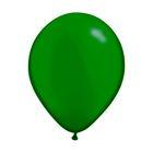"""Шар латексный 9"""", пастель, набор 100 шт., цвет зелёный"""