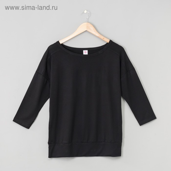 Джемпер женский, цвет чёрный, рост 158-164 см, размер 46 (арт. Р808039)