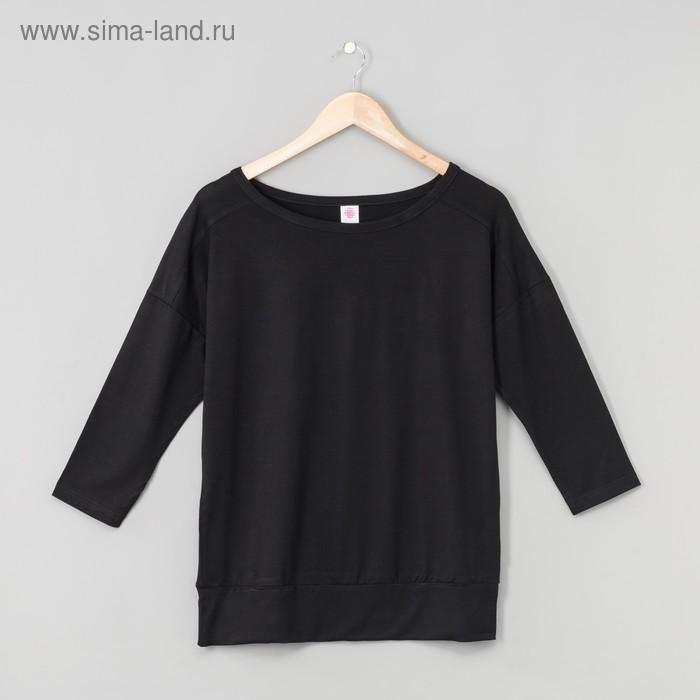 Джемпер женский, цвет чёрный, рост 170-176 см, размер 54 (арт. Р808039)