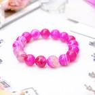 Агат розовый