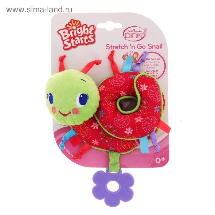 """Развивающая игрушка с прорезывателем """"Улитка"""""""
