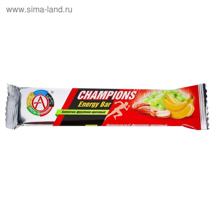 Батончик фруктово-ореховый CHAMPIONS ENERGY BAR