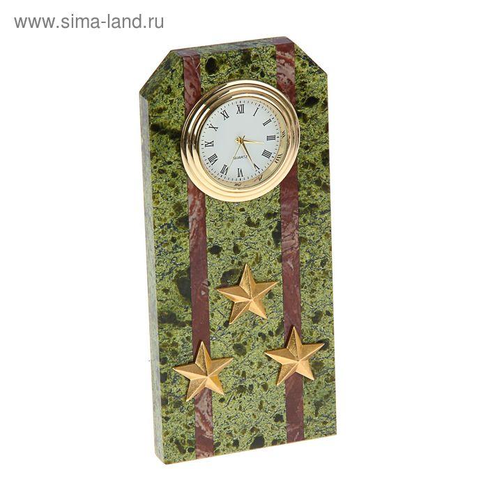 """Часы """"Погон-полковник"""" 60 х 45 х 150 мм"""