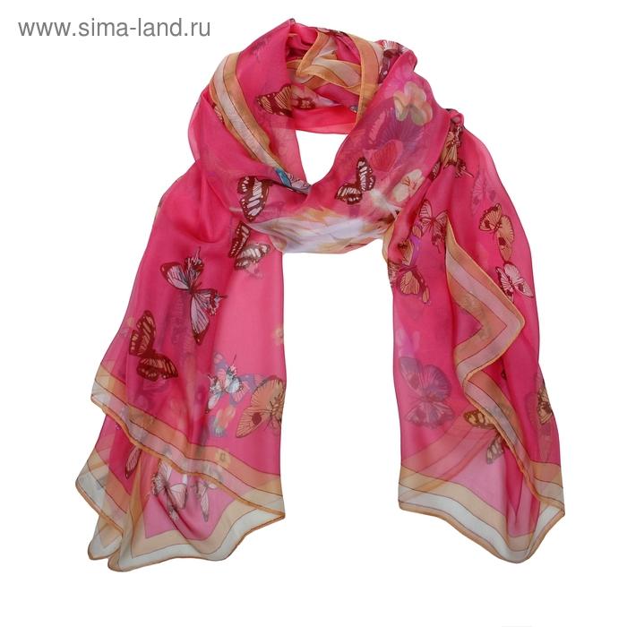 Палантин текстильный с фотопринтом, 143*175 см # PC   616-02
