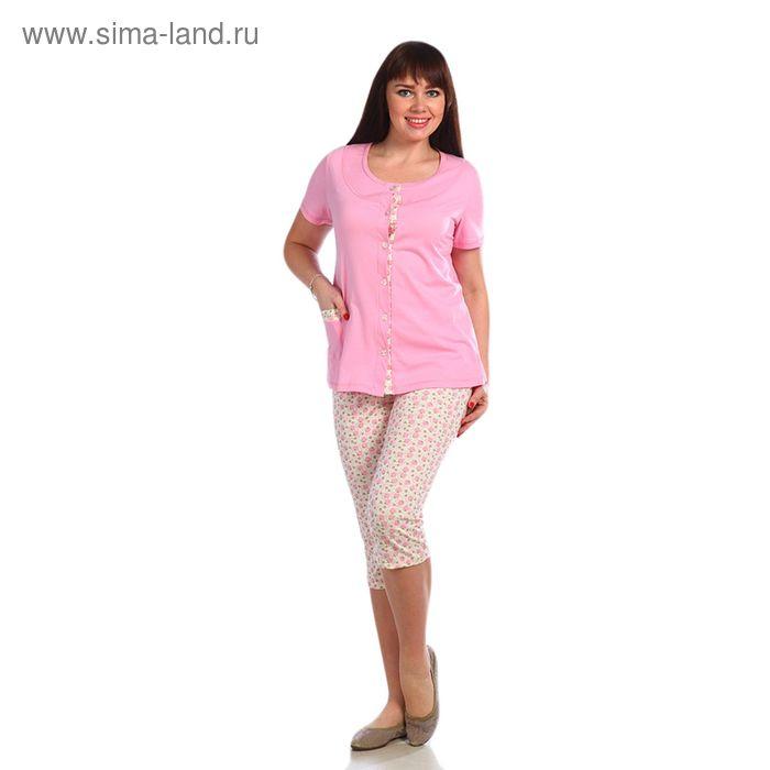 Пижама женская, размер 48, цвет розовый 221ХГ1669