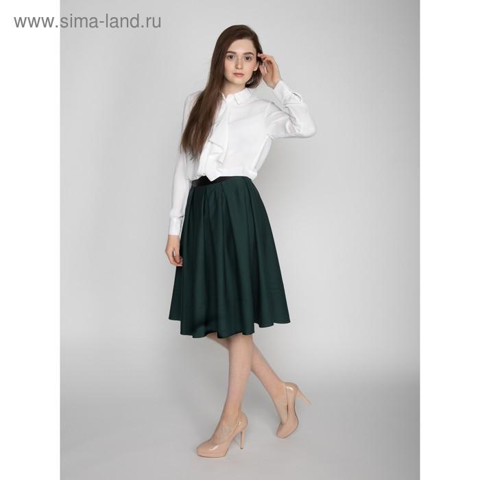 Блузка женская 10200260018, размер 40 (XXS), рост 170 см, цвет белый