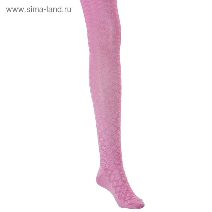 Колготки детские 2ФС73-011, цвет розовый, рост 140-146 см