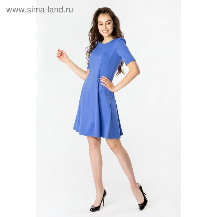 Платье женское 40200200073, размер 44 (S), рост 170 см, цвет синий