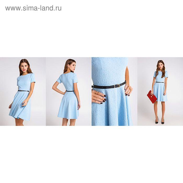 Платье женcкое 10200200024, размер 42 (XS), рост 170 см, цвет голубой
