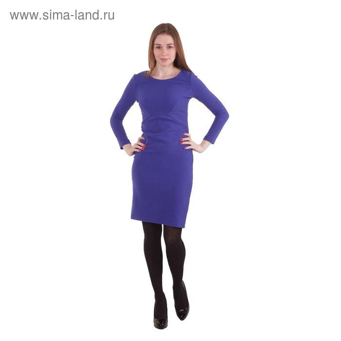 Платье женское 40200200072, размер 44 (S), рост 170 см, цвет синий