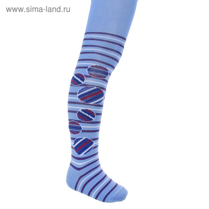 Колготки для девочки КДД1-2707, цвет голубой, рост 104-110 см