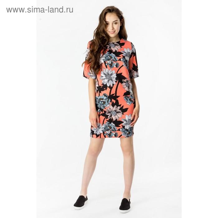 Платье женское 40200200066, размер 48 (L), рост 170 см, цвет св.коралл