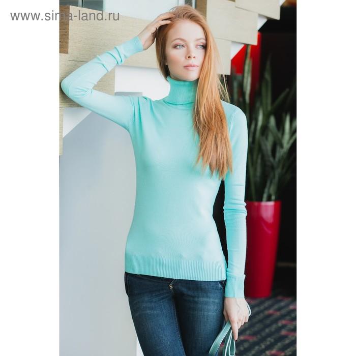 Свитер женский 40200320005, размер 42 (XS), рост 170 см. цвет св.зелёный