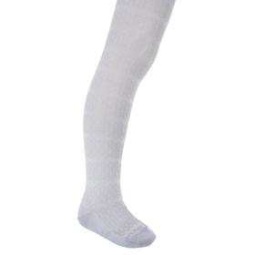 Колготки детские с ажурным эффектом, рост 116-122 см, цвет св.серый 2ФС73-007
