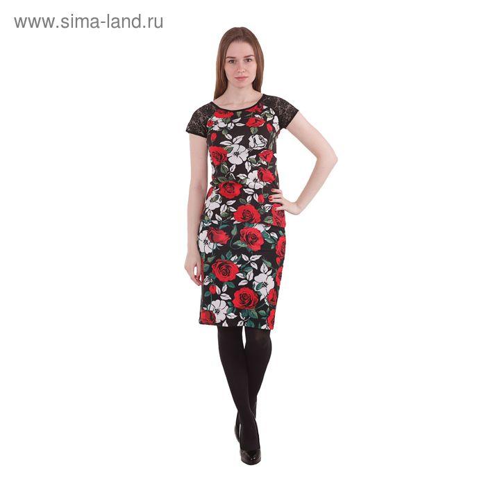 Юбка женская, размер 50 (XL), рост 170 см, цвет чёрный (арт. 10200180016 С+)