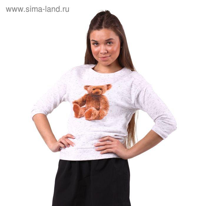Джемпер женский 10200100013, размер 42 (XS), рост 170 см, цвет белый
