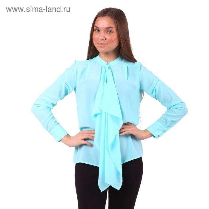Блузка женская 40200260049, размер 48 (L), рост 170 см, цвет св.зелёный
