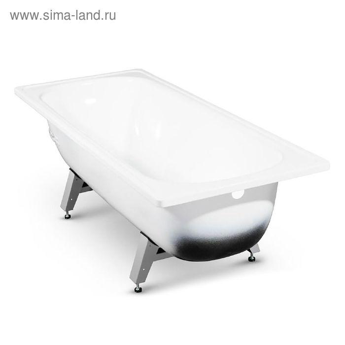 Ванна ANTIKA, cтальная, эмалированная, белая, ножки в комплекте, 170х70 см