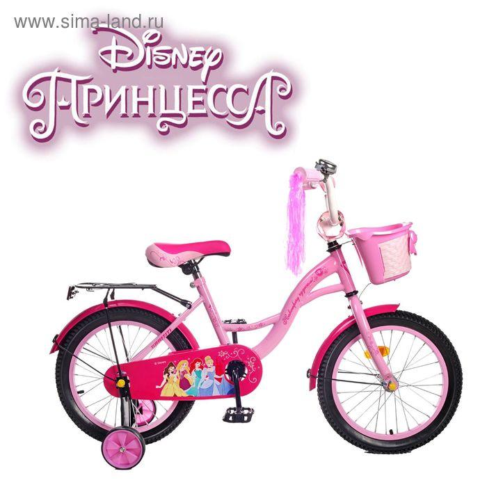 """Велосипед двухколесный 16"""" GRAFFITI """"ПРИНЦЕССЫ"""", цвет: розовый"""