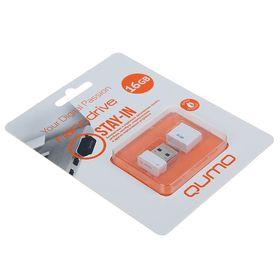 USB-флешка QUMO Nano White, 16 GB, белая