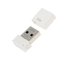 USB-флешка Qumo 8Gb Nanodrive, белая