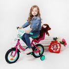 """Велосипед двухколесный 12"""" GRAFFITI """"Минни Маус"""", цвет: розовый"""