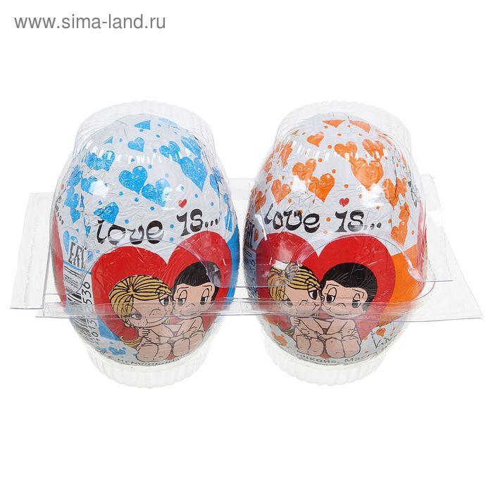 Шоколадное яйцо LOVE IS, с игрушкой, 20 г