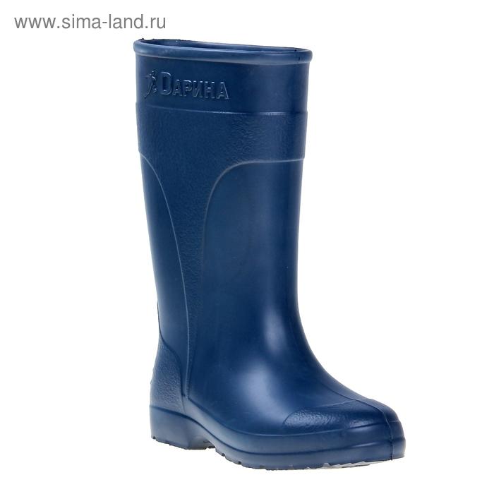 Сапоги женские ЭВА арт. Д500-К, без утеп, выс.34 (синий) (р. 37/38)