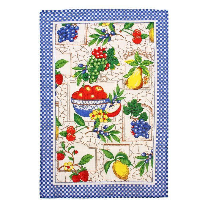 """Полотенце вафельное """"Collorista"""" Урожай  52*72±2, 100% хлопок,145 г/ м2"""