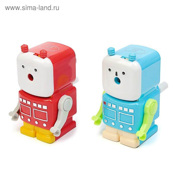 Точилка механическая с контейнером МИКС Робот