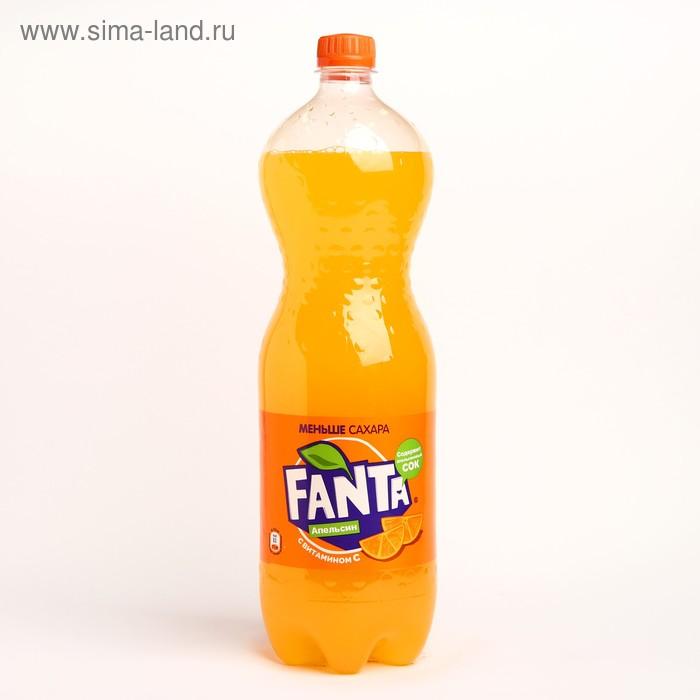 Вода газированная Fanta, aпельсин, 1,5 л