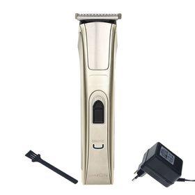 Машинка для стрижки волос LuazON LST-04, АКБ 600 мАч, насадки 3, 6, 9, 12 мм, LED-индик. Ош