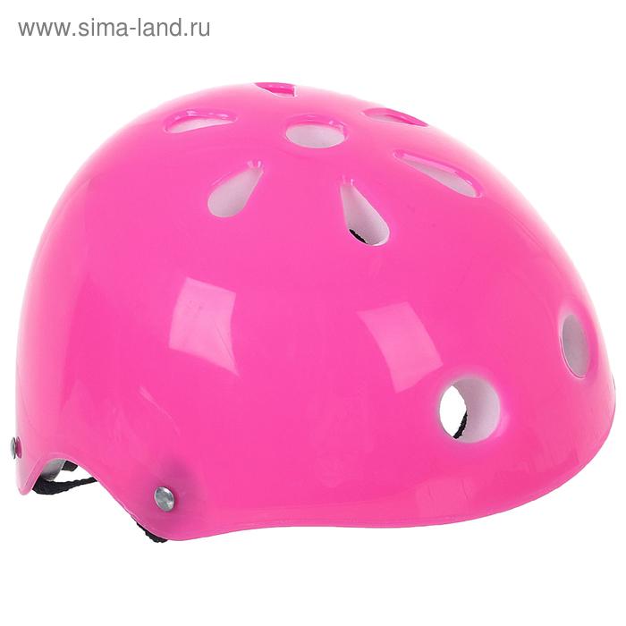 Шлем защитный OT-M301 детский, d= 50см, цвет: розовый